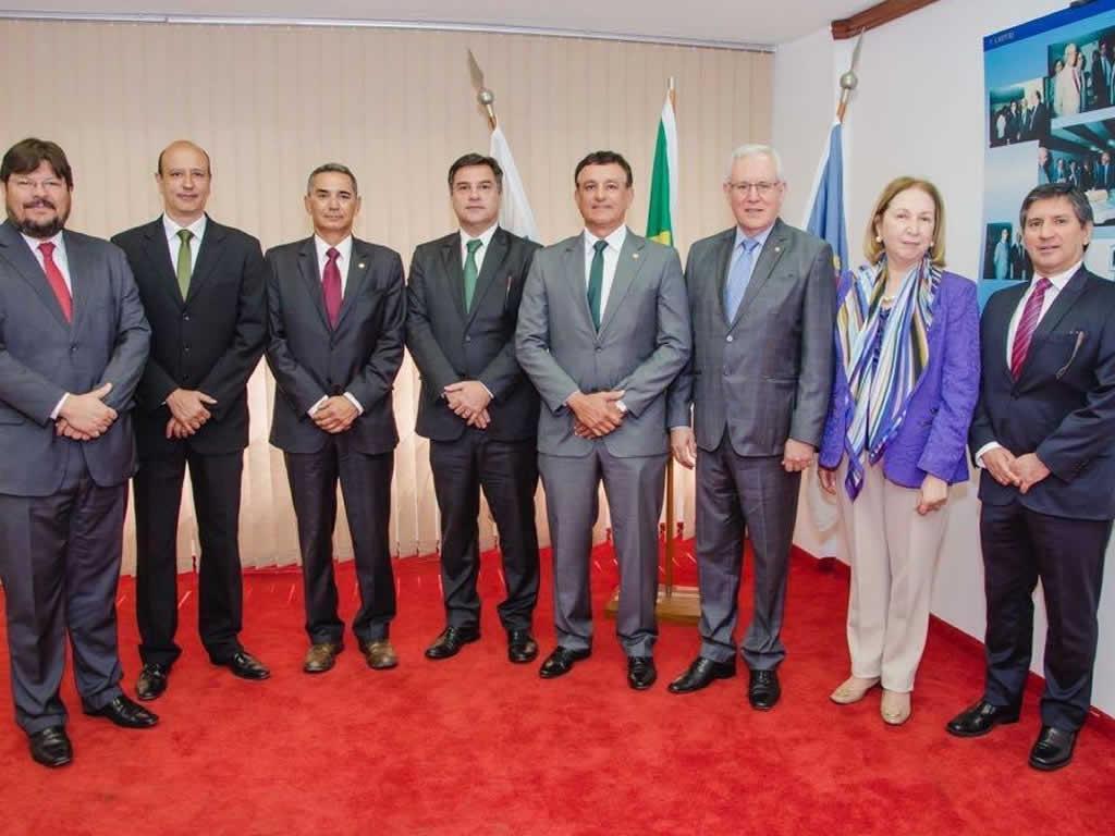 Posse do Diretor Presidente da CAMPERJ - Eduardo Lima Neto