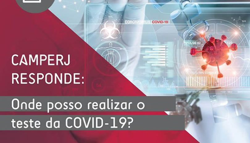 Onde posso realizar o teste da COVID-19?