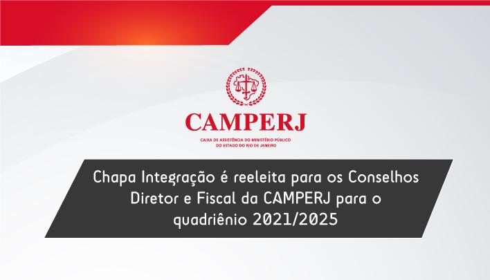 Chapa Integração é reeleita para os Conselhos Diretor e Fiscal da CAMPERJ